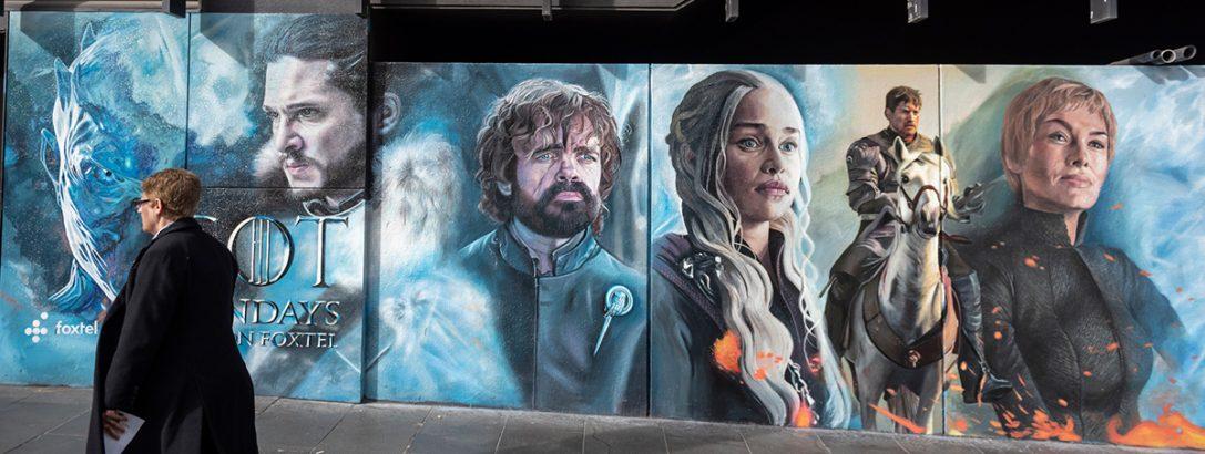 HBO creëert extra buzz rondom Game of Thrones met AR
