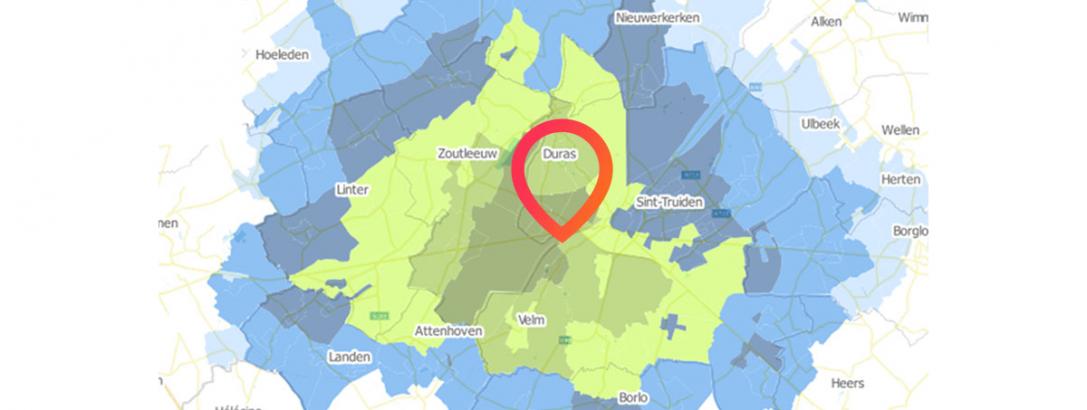 A.I. maakt locatiekeuzes makkelijker: 90% accurate winkelomzetvoorspellingen